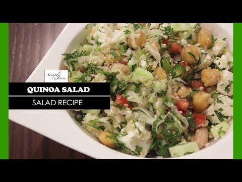 Quinoa Salad | How To Make Healthy Salad | Healthy Recipes | Simply Jain
