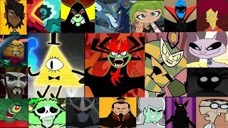 Defeats Of My Favourite Cartoons Villains ( Disney XD,Nikelodeon,Cartoon Network)