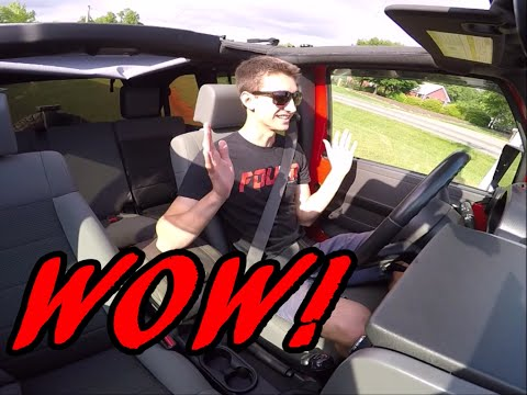 I LOVE Driving The Manual Transmission Jeep Wrangler!