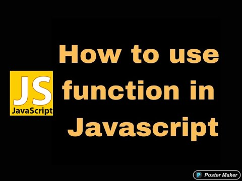 how to call function in javascript