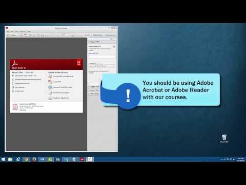 Working With PDF Files - Windows 8 Default Program Settings