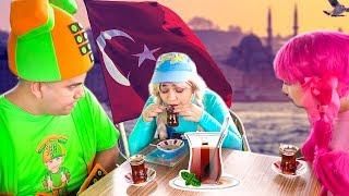 يويو ودودي وفوني والخوف من شرب الشاي  - yoyo dodi and foni the tea
