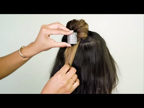 HOW-TO: Festival Half Up Top Knot
