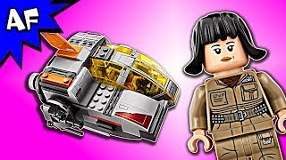 Lego Star Wars 8: Last Jedi Resistance TRANSPORT POD 75176 Speed Build