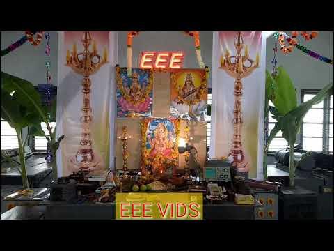 EEE VIDS Ayuda and Saraswathi Pooja Celebration