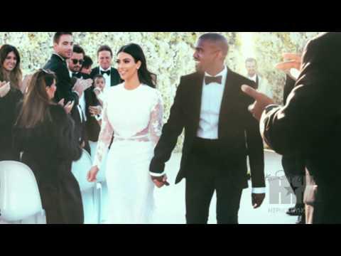 Kim Kardashian and Kanye West's Stunning Wedding Photos - HipHollywood.com