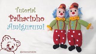 Amigurumi Receitas Português - Unicórnio Amigurumi de Crochê Parte ... | 180x320