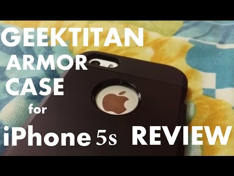 GEEKTITAN Armor Case REVIEW for iPhone 5S