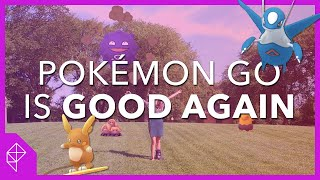 It's 2019 and Pokémon Go is good now