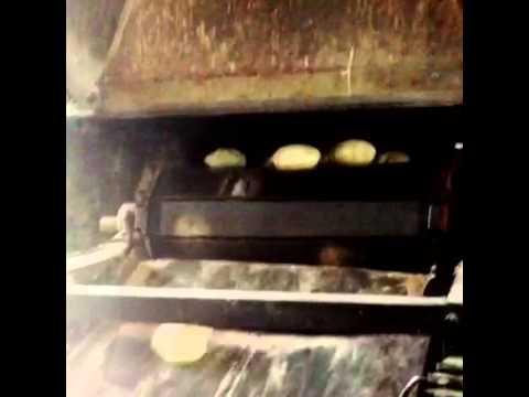 Making of Baladi bread in market (Egyptian Bread) 2- طريقة عمل عيش البلدي في السوق