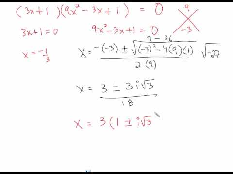6 4 sum and difference of cubes and factor by grouping