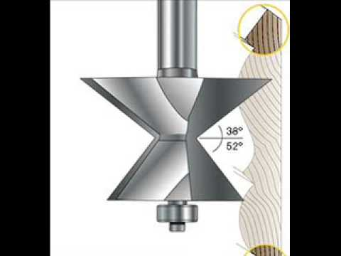 Crown Molding Angle Router Bit