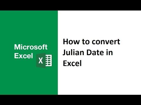 How to convert julian date to normal date in Excel, julian date to calendar date, gregorian, regular