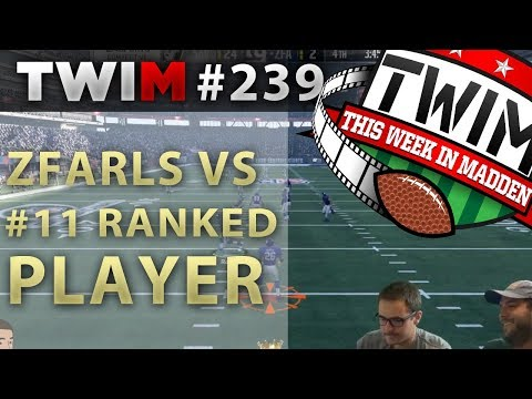 Madden 18 Gameplay | TWIM 239 Game of the Week | Madden 18 Tips
