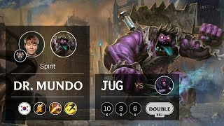 Download Dr. Mundo Jungle vs Elise - KR Challenger Patch 9.16 Video