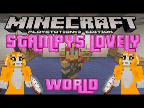 STAMPYS LOVELY WORLD + DOWNLOAD MINECRAFT PS3 PS4 EU & US / DISC & DIGITAL