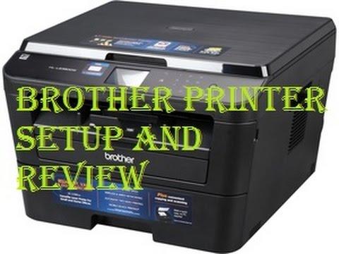 Brother HL-L2380DW Setup and Duplex Print