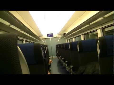 Tokyo Narita Airport, Sky Liner Train to City Area Japan