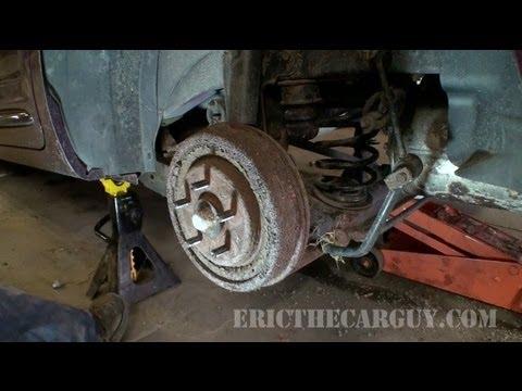 Replacing Rear Brakes, 2002 PT Cruiser - EricTheCarGuy
