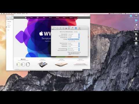 Mac OS X - Browser Download Folder Location