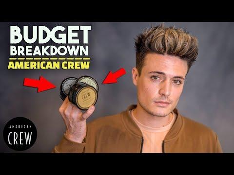 Is American Crew Any Good? | Budget Breakdown | Men's Hair Products | BluMaan 2018