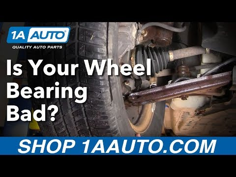 How Do I Tell If I Have a Bad Front Wheel Bearing Hub Assembly? Buy quality auto parts at 1aauto.com