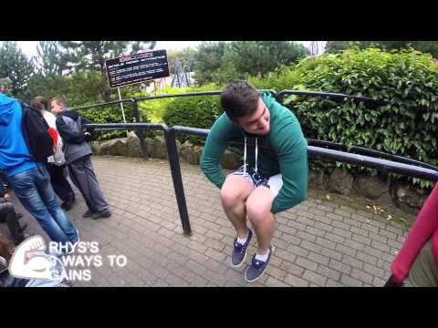 Alton Towers & Camping September 2014
