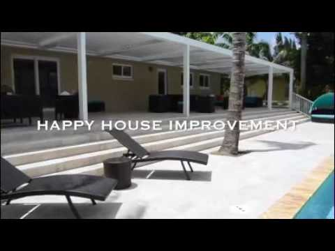 Happy House Louvered Pergola Roof System