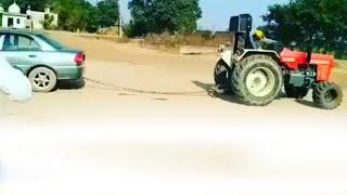 Swaraj 855 vs car tochan in Punjab