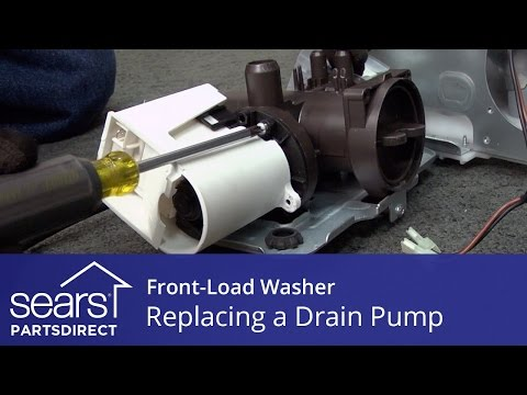 Replacing the Drain Pump on a Front-Load Washer