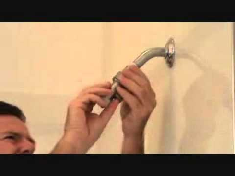 How to install a handheld shower head...Part 3