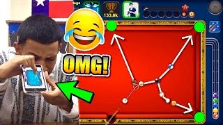 IS HE AIM HACKING? Craziest 8 Ball Pool Player In History!! - Monaco All-In 40M