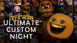 ALL JUMPSCARES + VOICES IN ULTIMATE CUSTOM NIGHT!! // FNaF