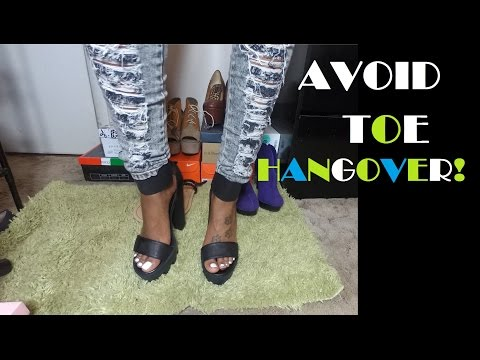 How to Avoid Toe Hangover!
