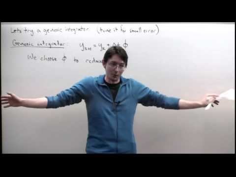 Lecture: General Time-stepping and Runge-Kutta Schemes
