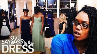 Bride Threatens to Kick Bridesmaids Out the Wedding!   Say Yes To The Dress Bridesmaids
