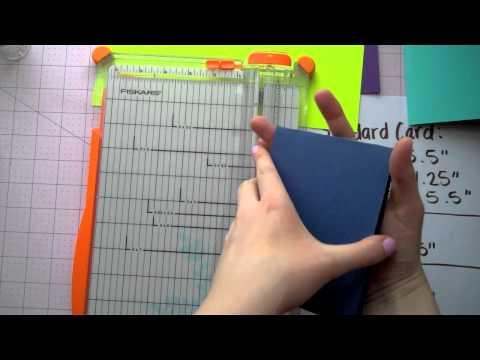 Cardmaking Basics - Card Measurements and Sizes