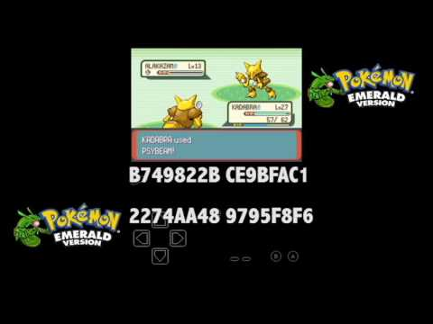 How To Get Alakazam On Pokemon Emerald Emulator