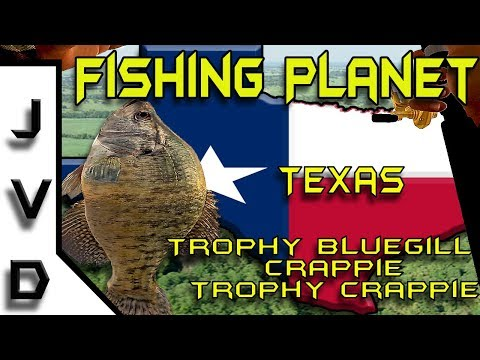 Fishing Planet  | Ep. 2 | Catch TROPHY Bluegill, Crappie, & TROPHY Crappie | Lone Star Lake, Texas