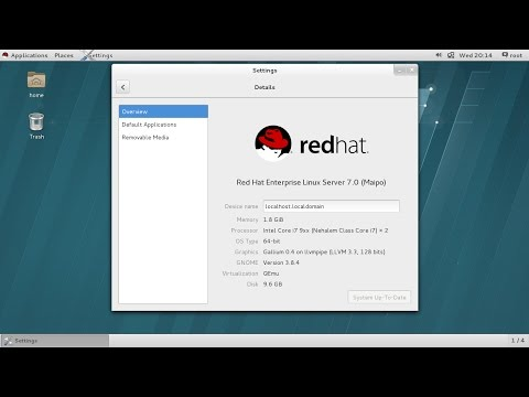 How to Install Redhat Linux 7 in Virt Manager/KVM