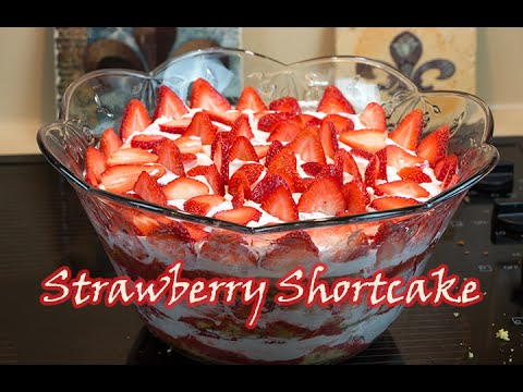 Best Strawberry Shortcake (Easy to follow recipe) Sweet Tooth Part 1