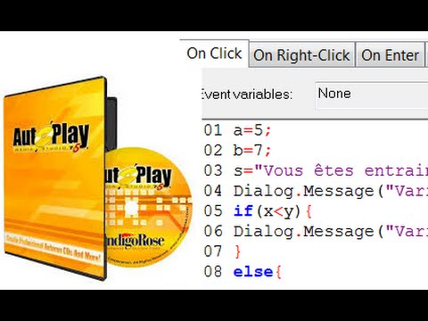 4 - La boucle for - Script Autoplay Media Studio -