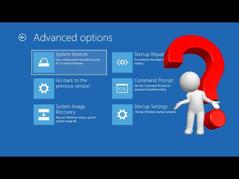 Windows 10 Safe Mode and Other Recovery Options