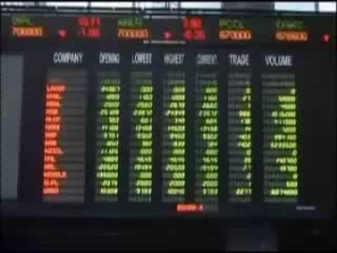 Violence erupts as Pakistan stocks drop