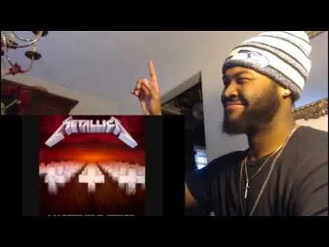 Metallica-Master Of Puppets (Lyrics) - REACTION