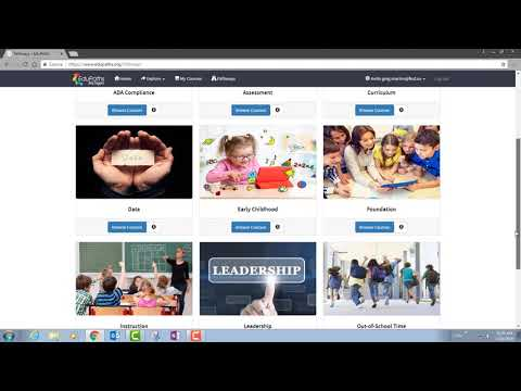 EduPaths Intro: Free, self-paced online PD for Michigan educators