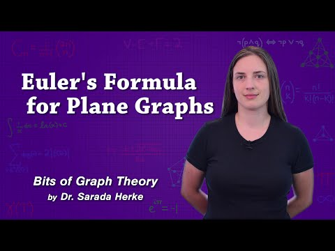 Graph Theory: 58. Euler's Formula for Plane Graphs