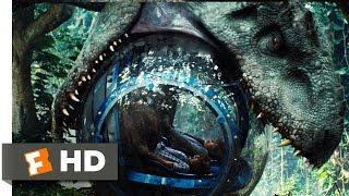 Jurassic World (2015) - Indominus Attacks the Gyrosphere Scene (3/10) | Movieclips