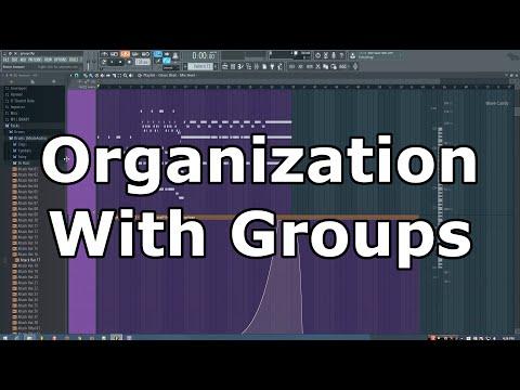 FL Studio Organization Tip: Using Groups