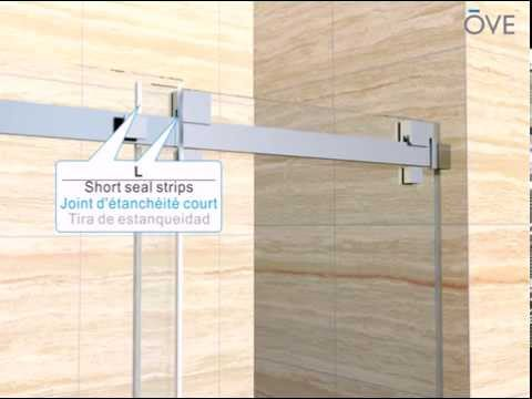 OVE FRANCE Shower Alcove installation